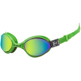 ORCA Killa 180° Mirror Goggles Large black lime green